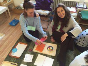 Realizando la formación como Asistente de Guía Montessori