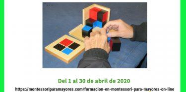 Formacion en recursos montessori para mayores